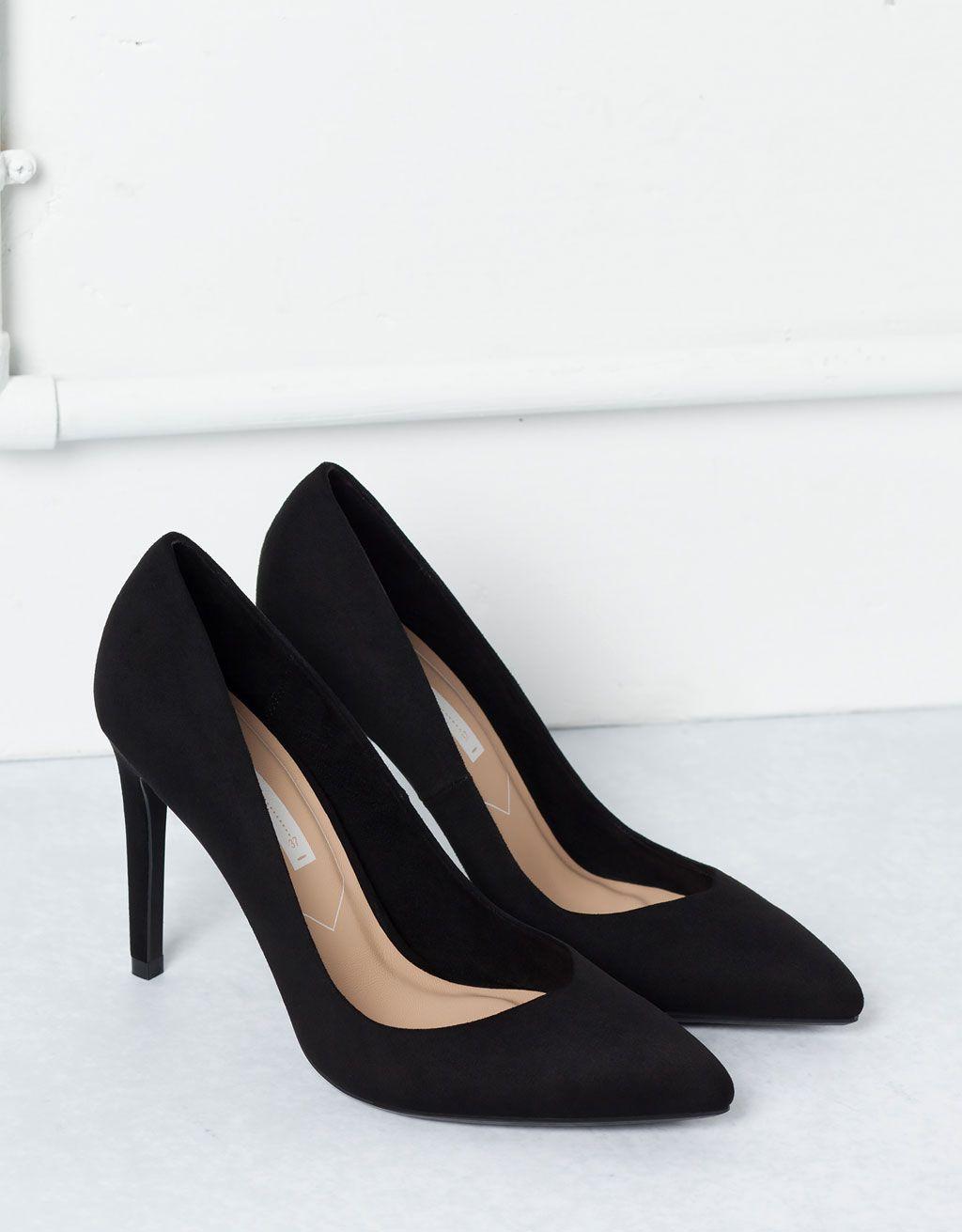 Szpilki Bershka Basic Buty Bershka Poland Stiletto Heels Shoes