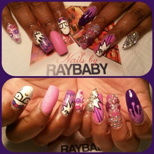 ..BY APPOINTMENT ONLY   Text --- 404-721-2315 ---- FOR ALL/ANY APPOINTMENT INFO #handpaintednailart All freehand art..AND NO DRILL USED WHATSOEVER...  #nailsbyraybaby #atlantanailtech @Nailpro Magazine @NAILS Magazine #nailart #nailgasm #nailitmag @Nail It! Magazine #castleberryhill #atlanta #phuckyonails #lemmeseeyonails #phuckyonailtech  #247NailPerfection #247VixenLife #VixenLife #junknails #atlantanails #atlantanailart