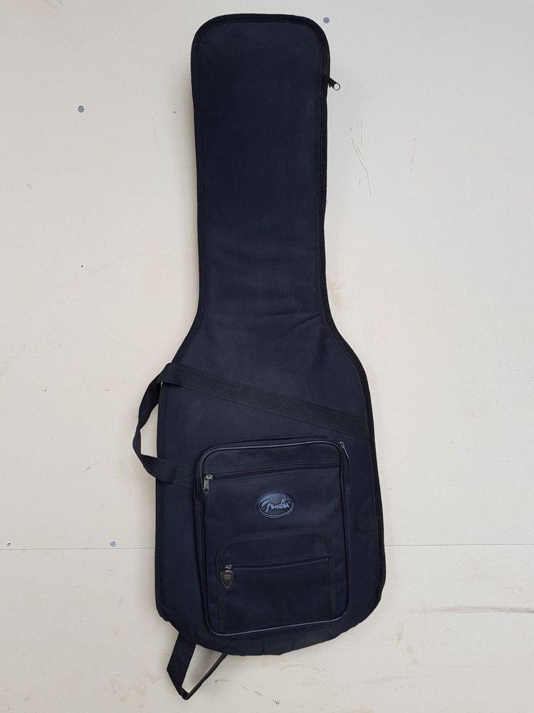 918290bd9b FENDER BLACK PADDED SOFT GUITAR BAG / CASE | Fender Guitars | Guitar ...