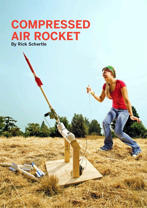 HowTo Tuesday Compressed air rocket Compressed air