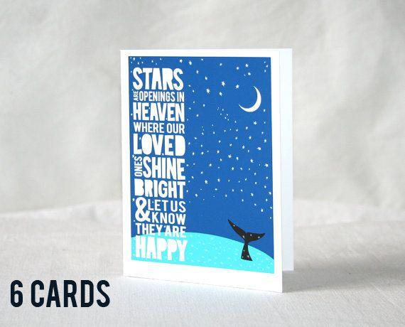 Sympathy Card Sympathy Card Kids Modern Sympathy Card Eskimo