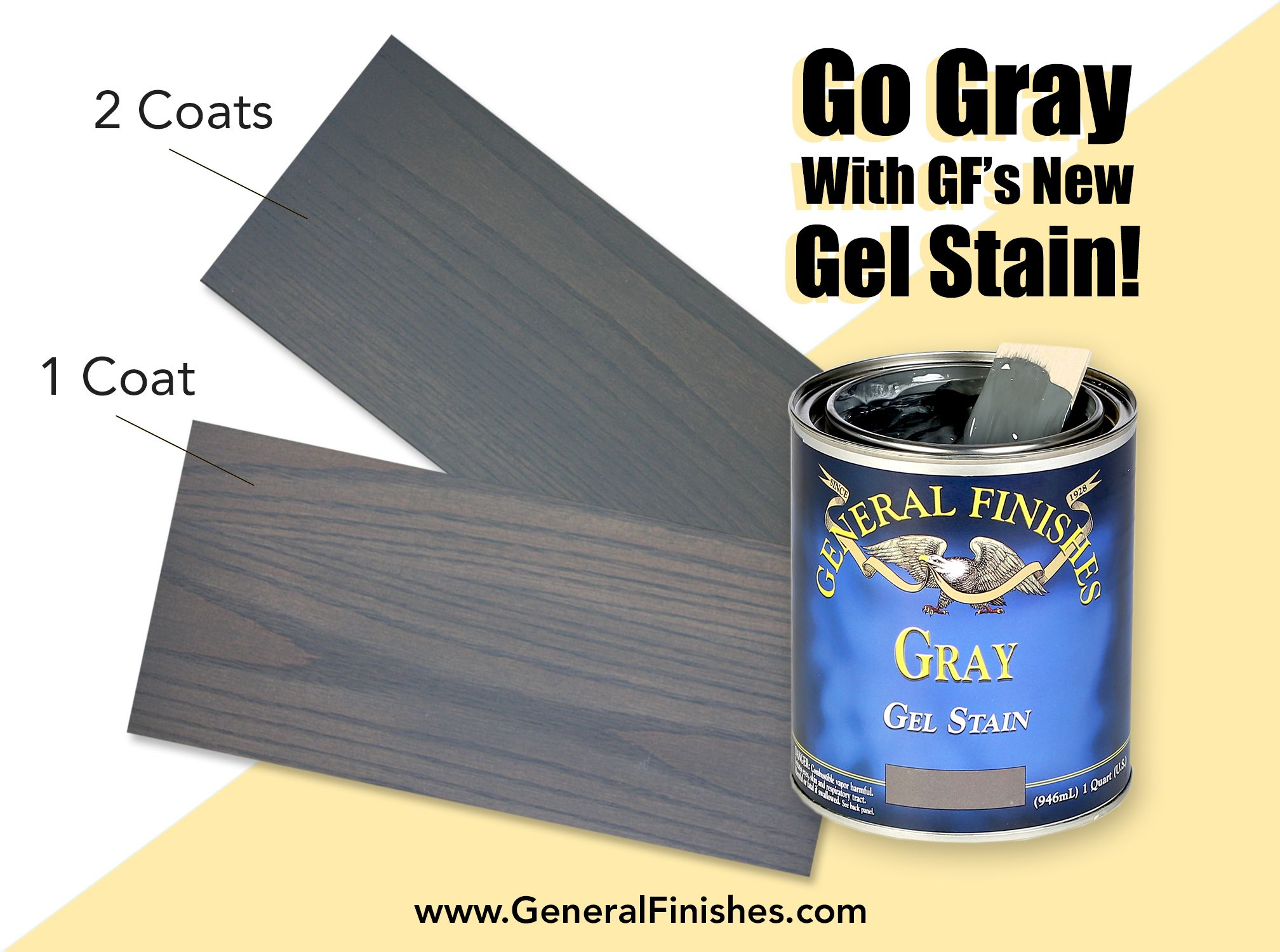 Whether Your Style Is Rustic Glam Or Chic And Modern Gray Gel Stain Has You Covered Get That Gorgeous Weather Gel Stain Furniture Staining Cabinets Gel Stain