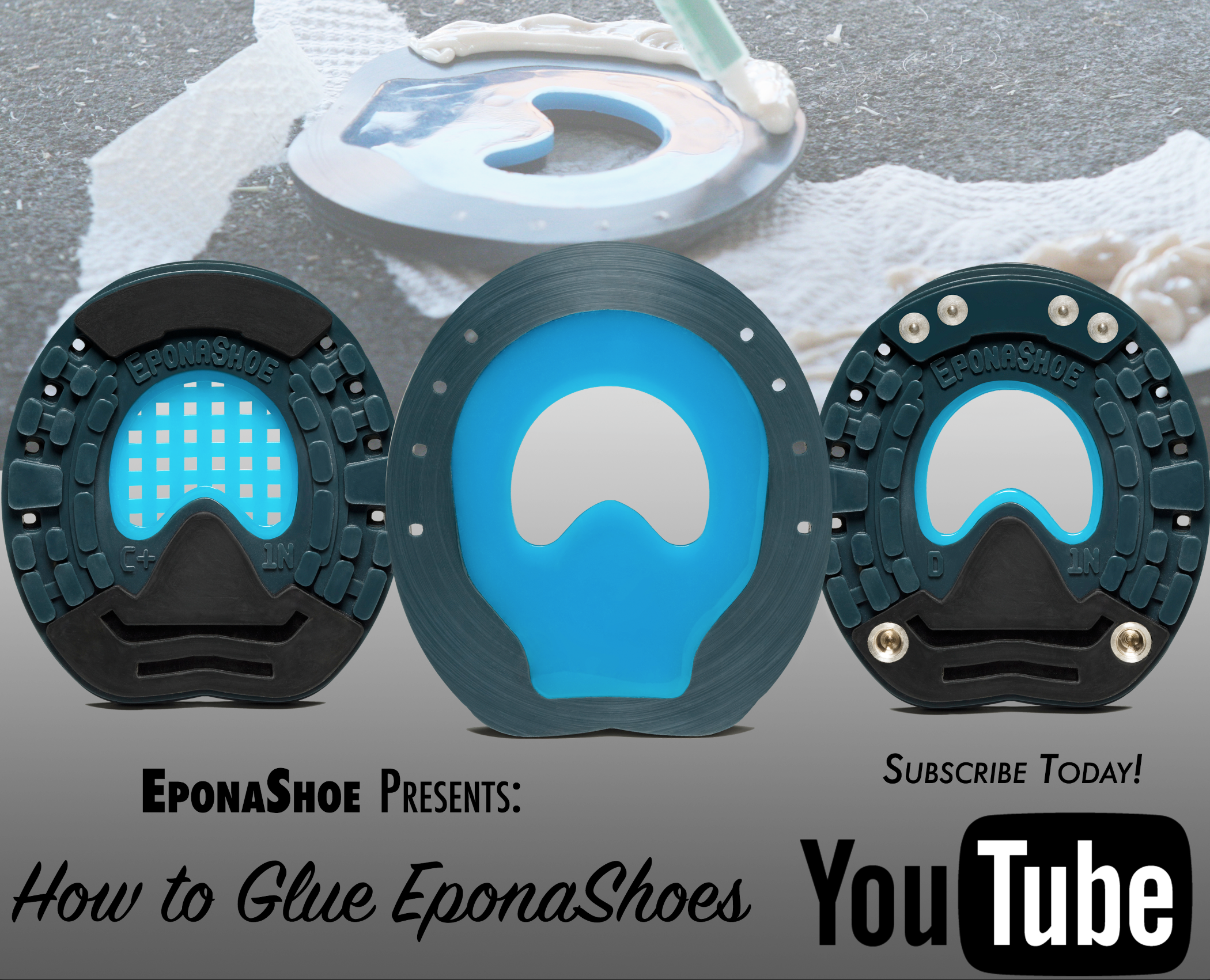 Learn the secrets of glueing the EponaShoe for the best