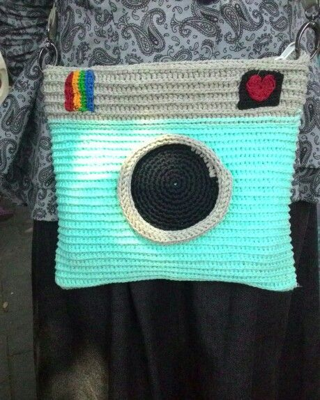 Phonto crochet camera long strap #crochetcamera Phonto crochet camera long strap #crochetcamera