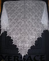 Echoes of the Past Knit Lace Shawl Ravelry pattern approx$8.30