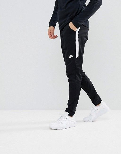3606df3e5ac Nike tribute joggers in slim fit in black 861652-010 in 2019 | Outfit |  Nike clothes mens, Nike tracksuit, Black nike joggers