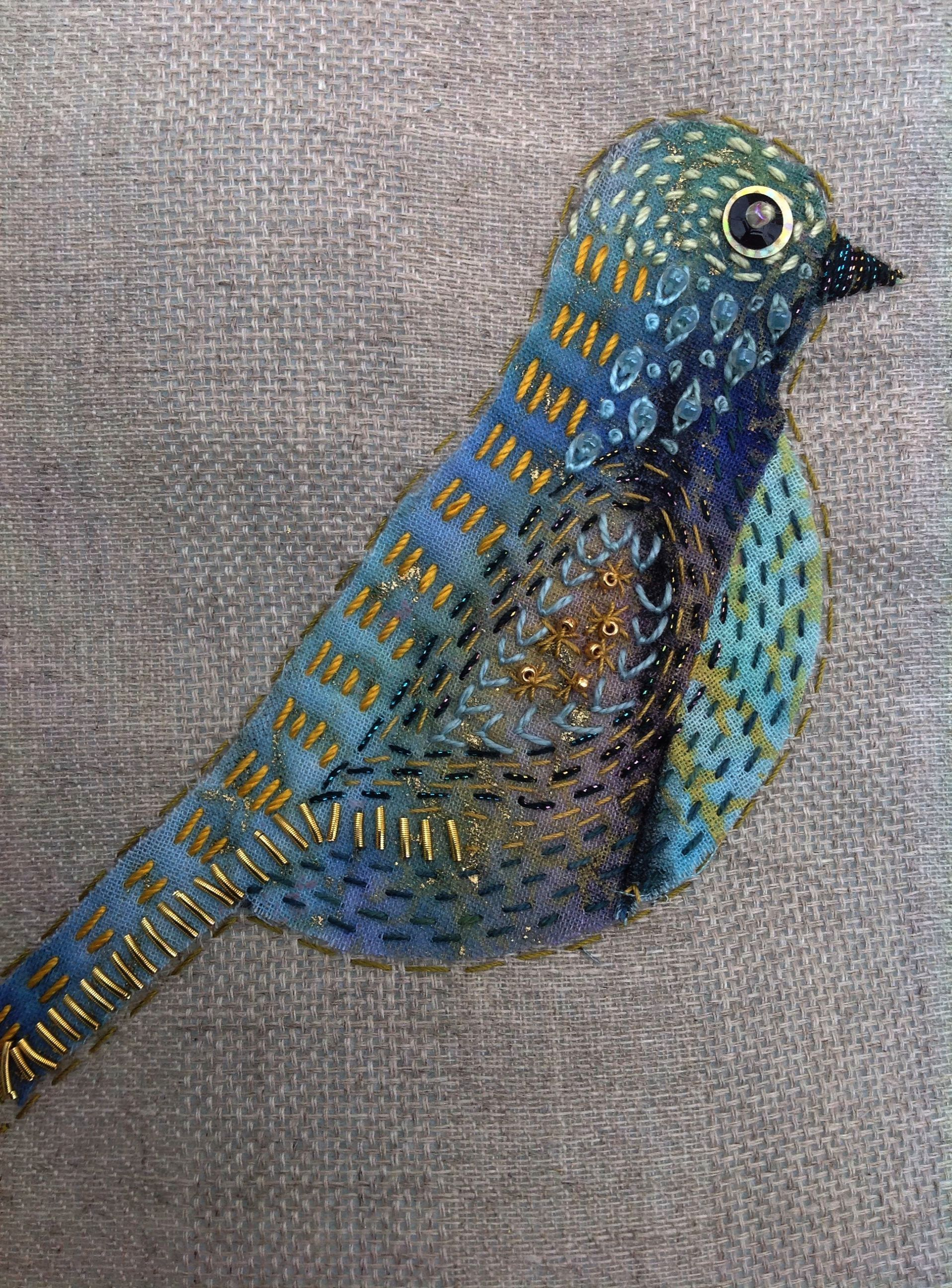 Running Stitch Not Going Away Back Stitch Pain #birdfabric