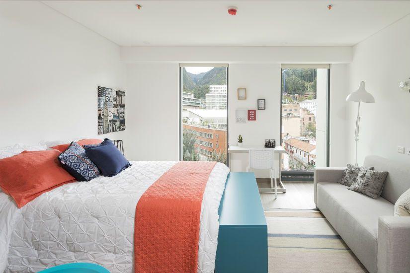 As es una habitaci n en city u foto cortes a planos for Dormitorios para universitarios
