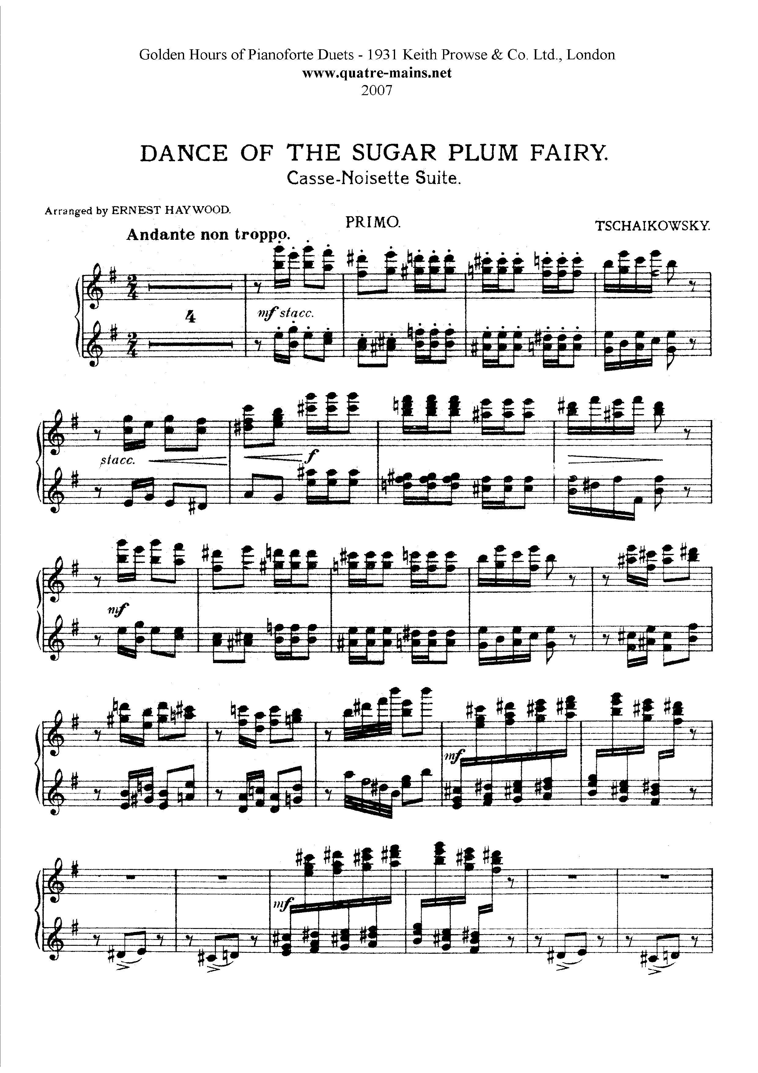Dance Music For Piano Music Sheet Dance Music For Piano Music