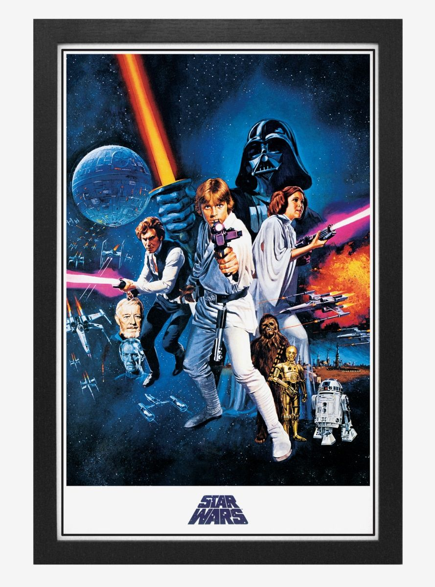 Star Wars New Hope One Sheet Poster