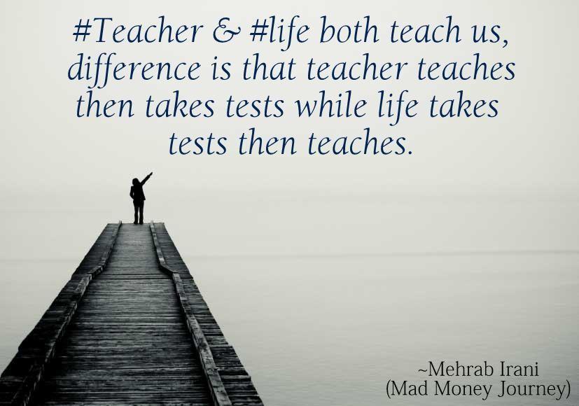 Mad Money Journey Quote  By Mehrab Irani