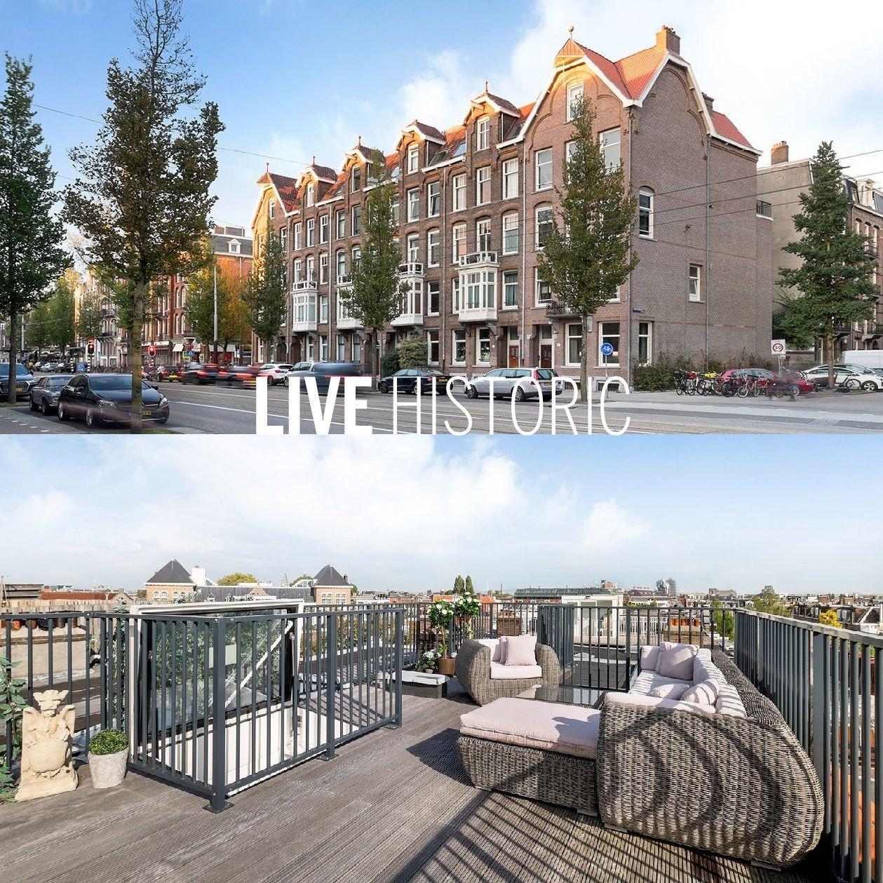 LIVE HISTORIC - Looking for a Amsterdam apartment with an ...