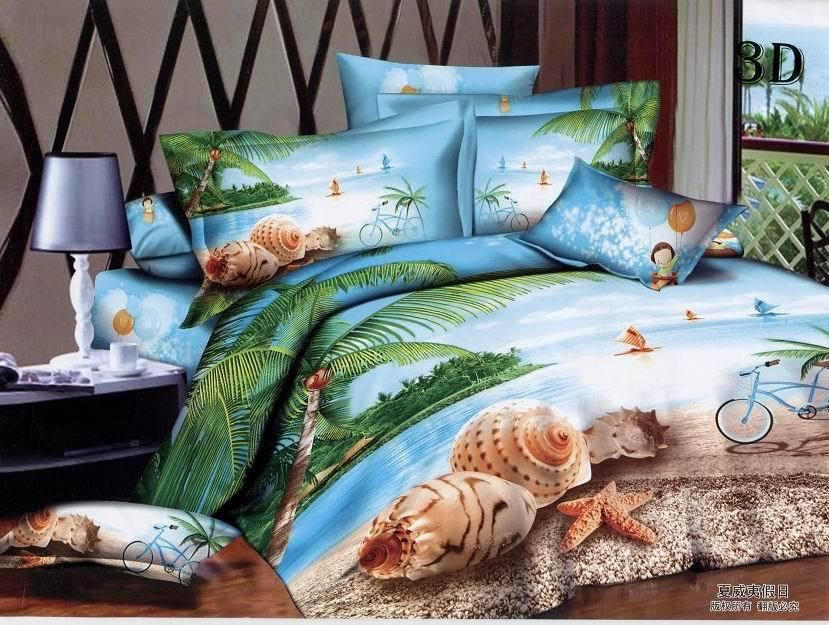 Beach Bed Comforters Sets King Size