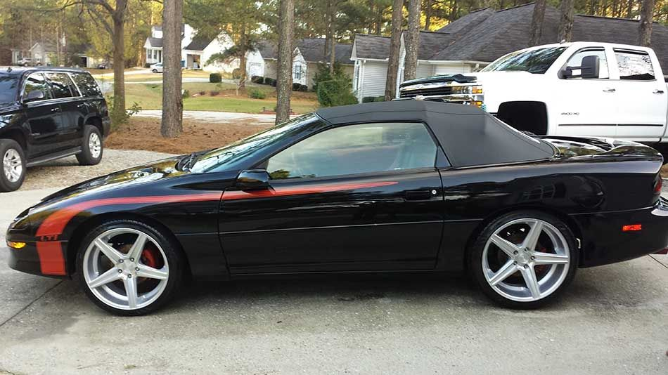 b7af37d50a6ed1a915b03183c2c17d79 4th gen 1994 chevrolet camaro z28 lt1 convertible for sale in 2016 Camaro LT1 Inside at fashall.co