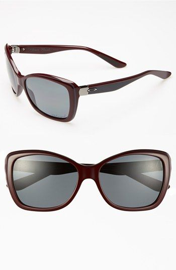 Oakley 'News Flash' 56mm Polarized Sunglasses available at #Nordstrom