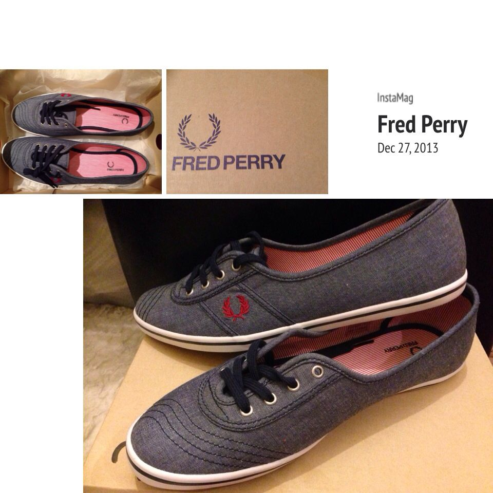 Shopping day today~ :) Fred Perry Shoes ❤ | Personal ...