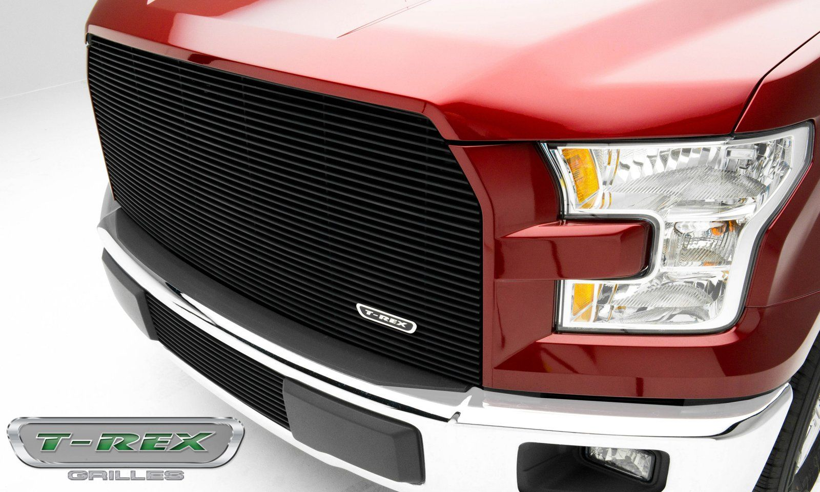 TREX Ford F150 Billet Series Main Grille with Black