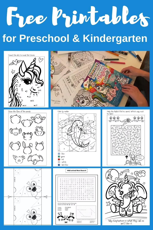 Printable Activities For Kids Free Printables For Preschool And Kindergarten Video Free Preschool Printables Free Printable Activities Mazes For Kids Printable [ 1500 x 1000 Pixel ]