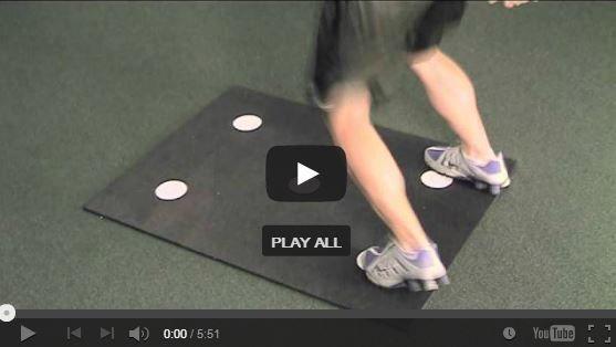 Dot Drill Mat Instructional Video Full Body Training Get Fit Drill