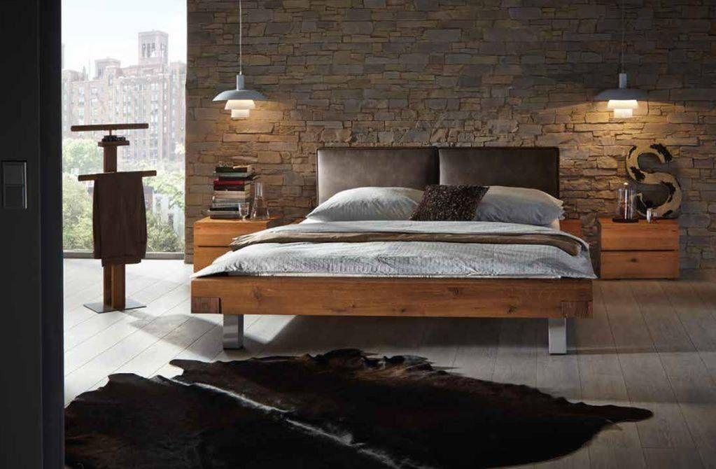 Hasena WildOak Aosta Bett Zimmer, Bett, Schlafzimmermöbel