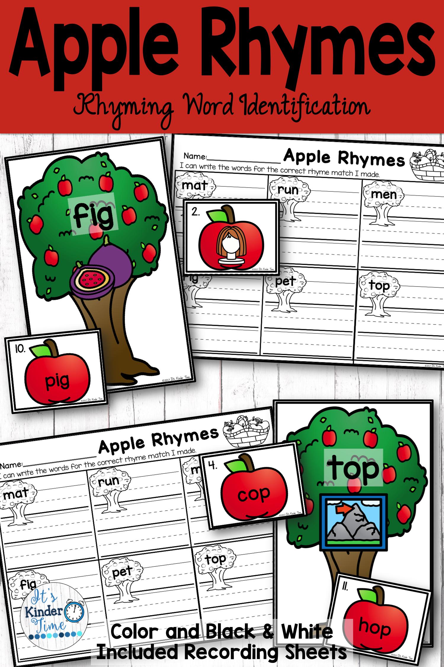 Apple Rhymes