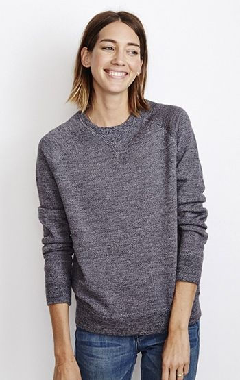 Marc Sweatshirt Charcoal Twist