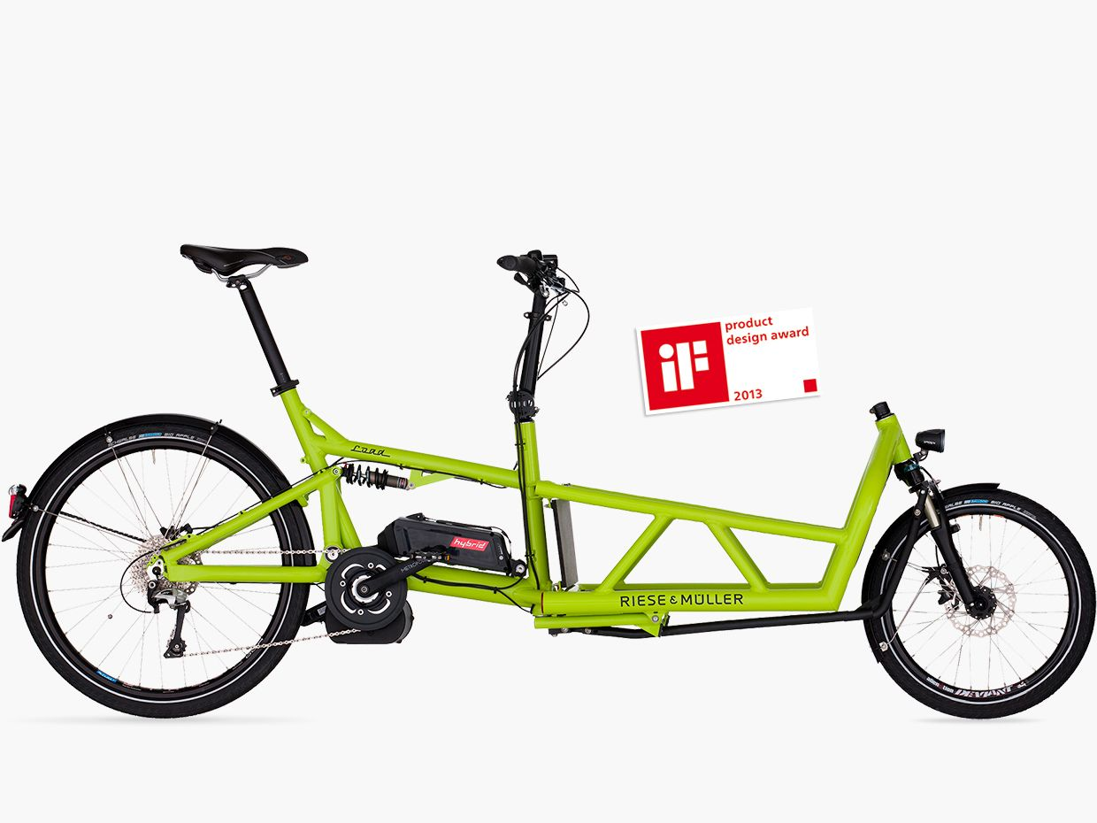 Riese and Müller Load cargo ebike runs on Bosch electric drive unit ...