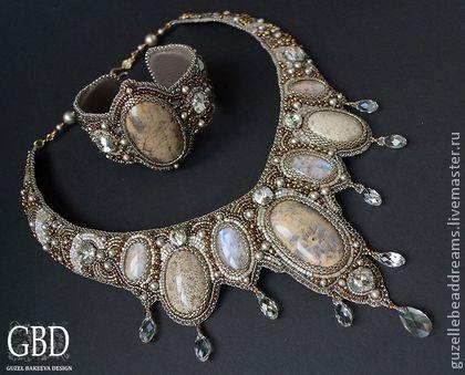 Handmade jewelry sets. Fair Masters - handmade Lights - set. Handmade.