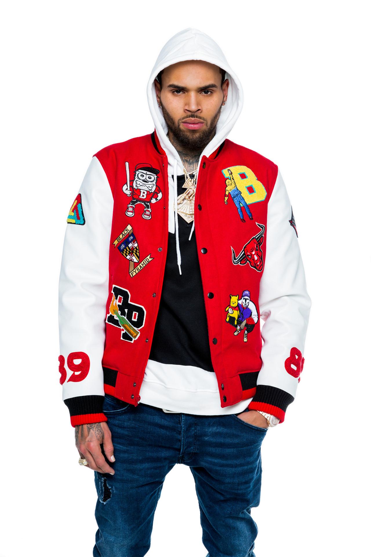 672d4cb6b Chris Brown for Black Pyramid (x)