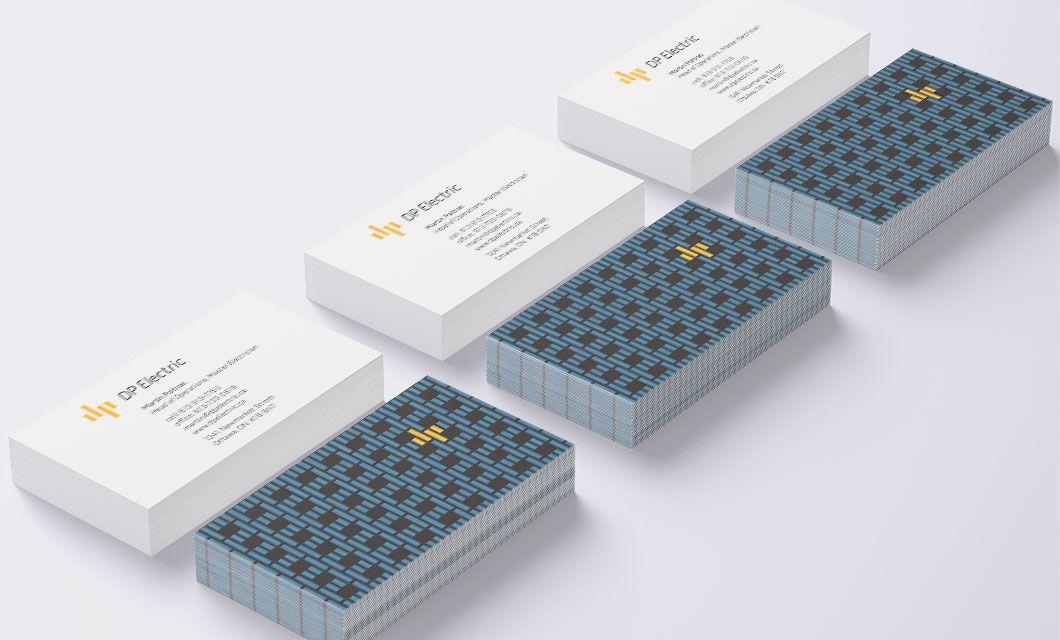 DP Electric Branding and Logo Design - idApostle | Stationary ...