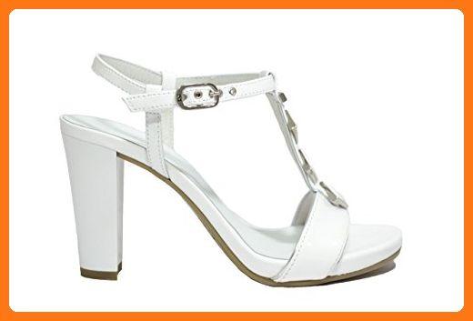 Nero Weiß Sandalen Größe39 Xtwoiuzpk Wei Giardinidamen y7gb6f