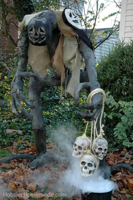 Build Grim for Halloween! Instructions on HoosierHomemade