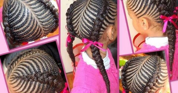 Hairstyles, African braids and Braided hairstyles on Pinterest