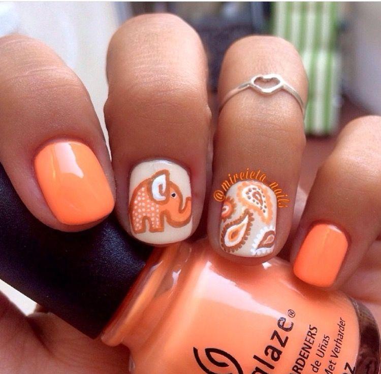 elephant nails ongles