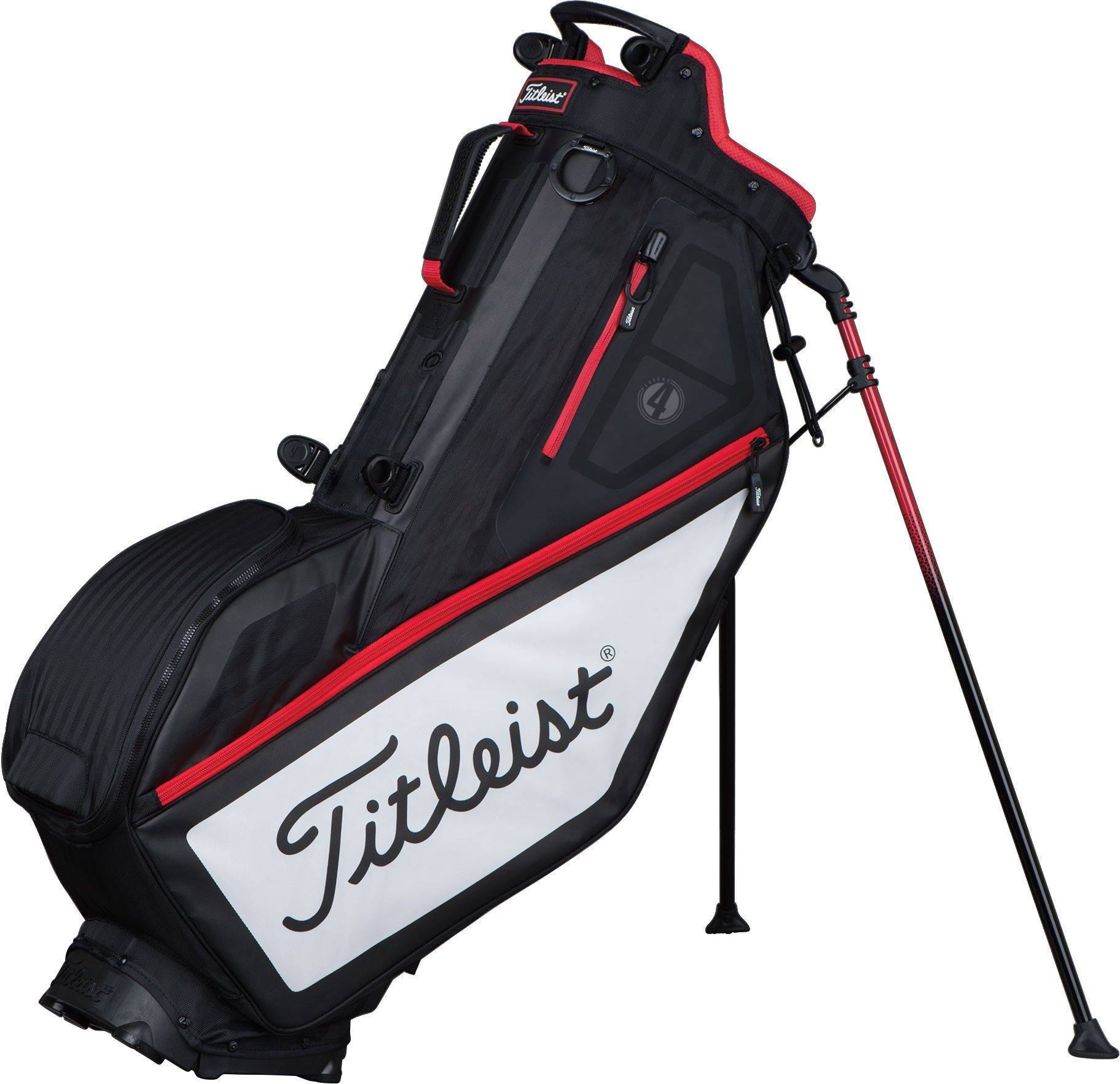 Titleist 2017 Players 4 Stand Bag, Black (With images