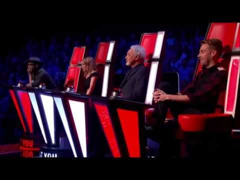 Vicky Jones - Bed of Roses - The Voice UK - FULL AUDITION