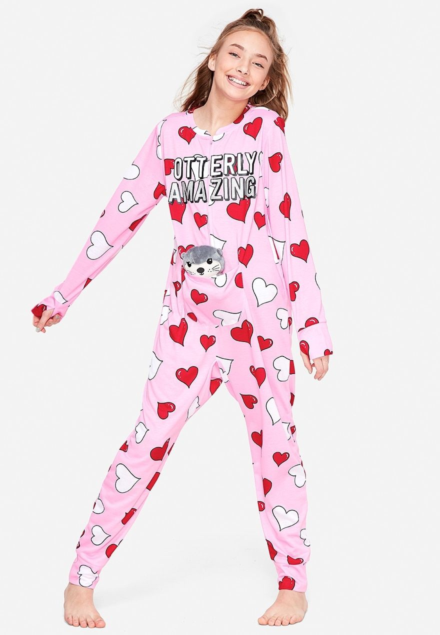 Otterly Amazing Pouch One Piece Justice Kids Dance Outfits Cute Outfits For Kids Girls Holiday Pajamas