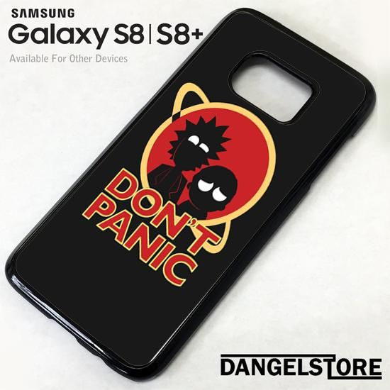 huge selection of 6c434 977b3 Rick And Morty Dont Panic YZ For Samsung S8 | S8 Plus Case | Awesome ...