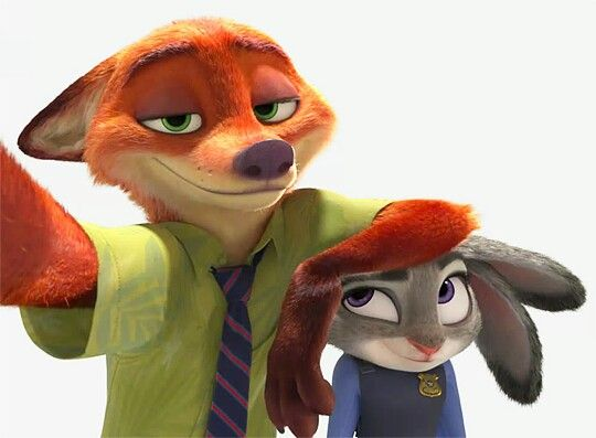Zootropolis - Nick and Judy