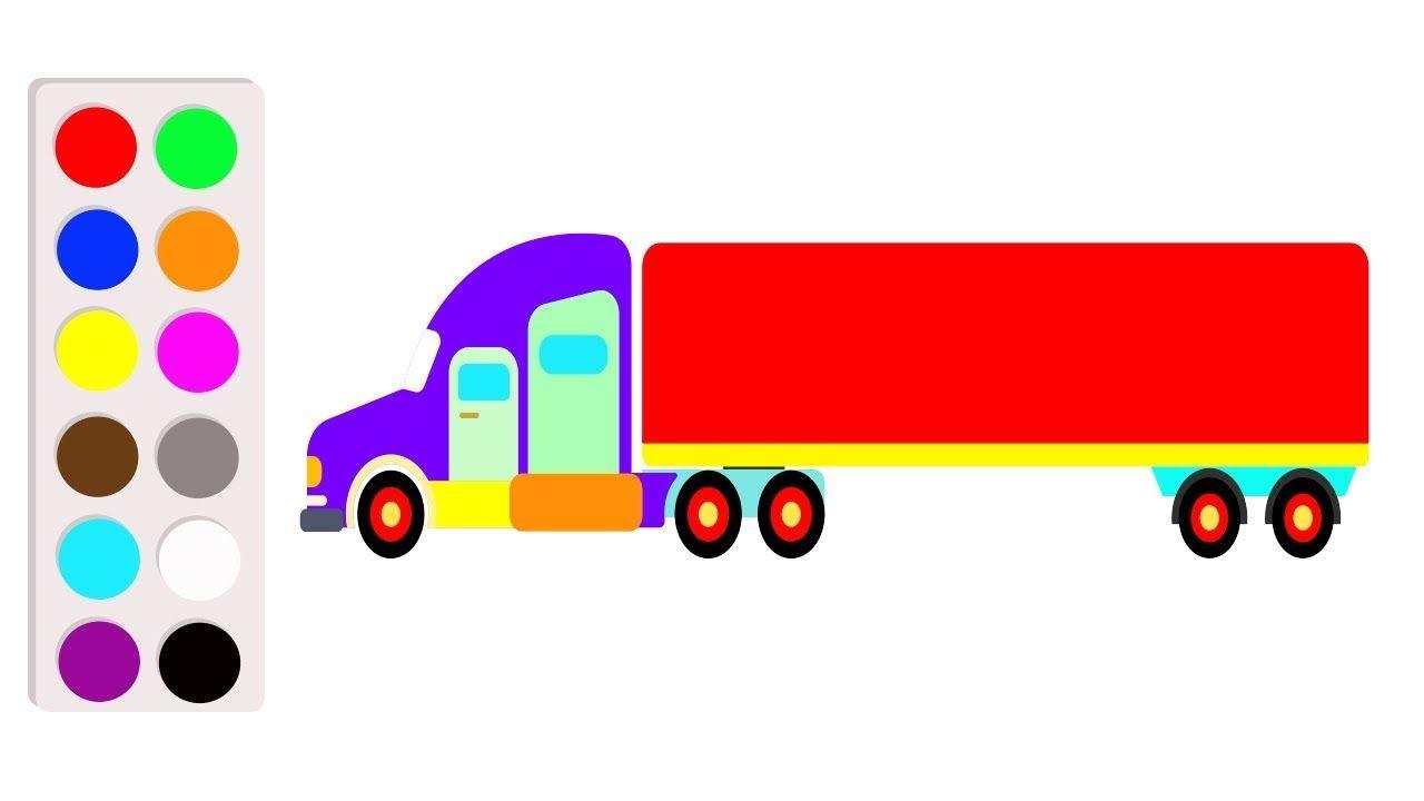 b7af94d63e0937c649f50dd2b16ff191 » Kid Truck Drawing