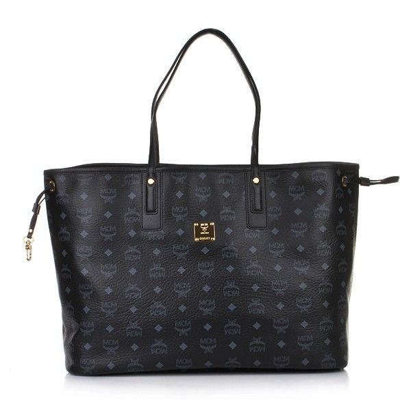 MCM Shopper Project Shopper large Black — Fashionette | Mcm
