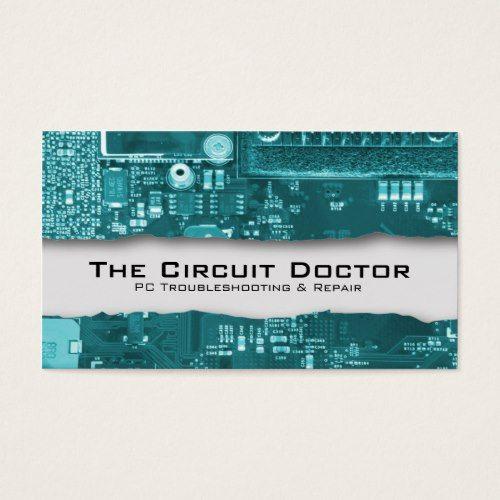 Computer repair business card electronic circuits circuits computer repair business card electronic circuits colourmoves