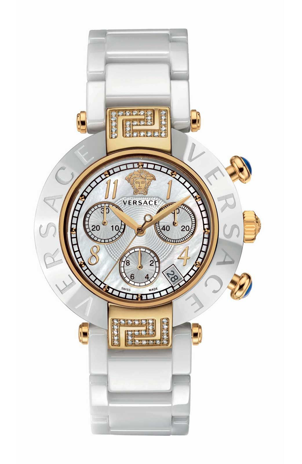 d3adc49fc0 white and gold versace | wants | Versace, Fashion watches, Jewelry ...