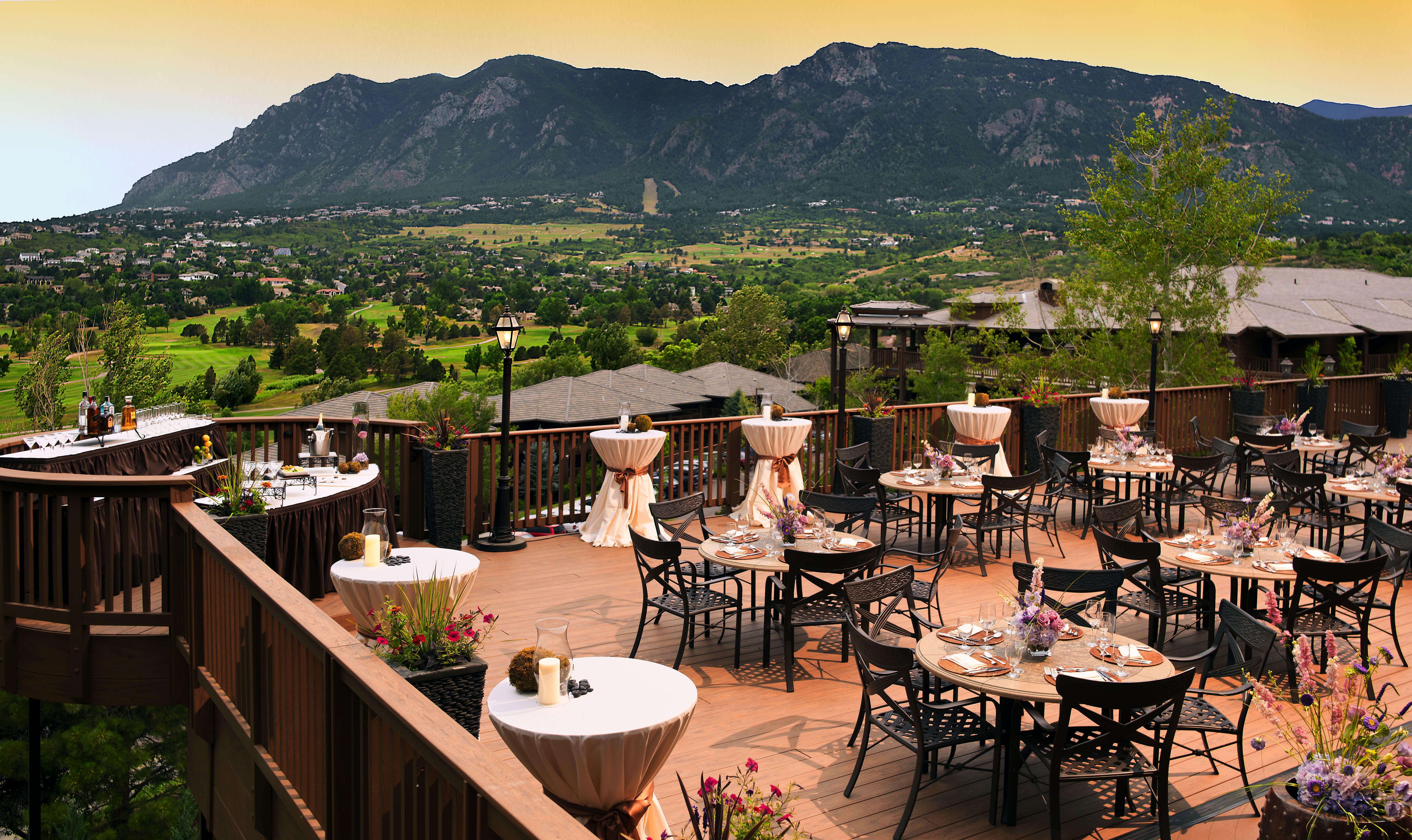 Beautiful wedding and reception venue Cheyenne Mountain