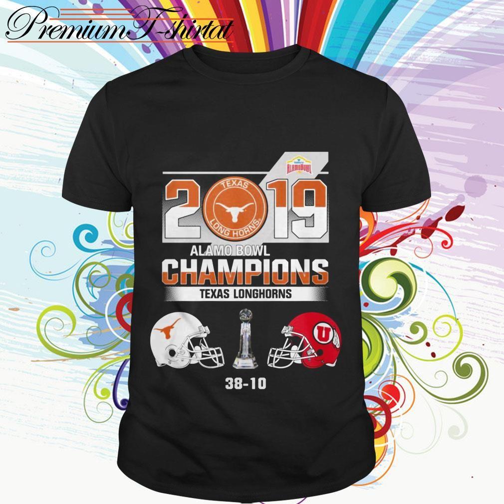 2019 Alamo Bowl Champions Texas Longhorns 38 10 shirt