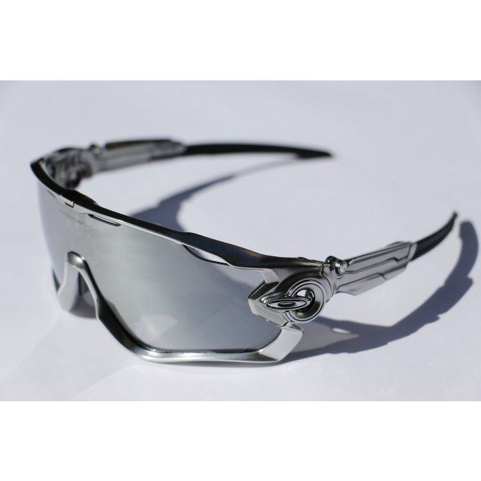 Oakley Jawbreaker Chrome - Black Iridium | Sunglasses | Pinterest ...