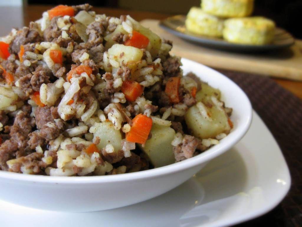 Easy Venison And Rice Recipe Venison Recipes Deer Meat Recipes Antelope Recipes