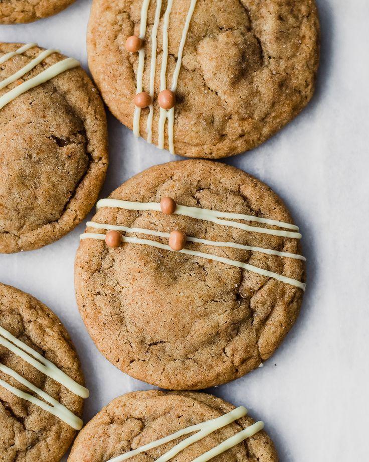 Gingerbread Latte Snickerdoodles