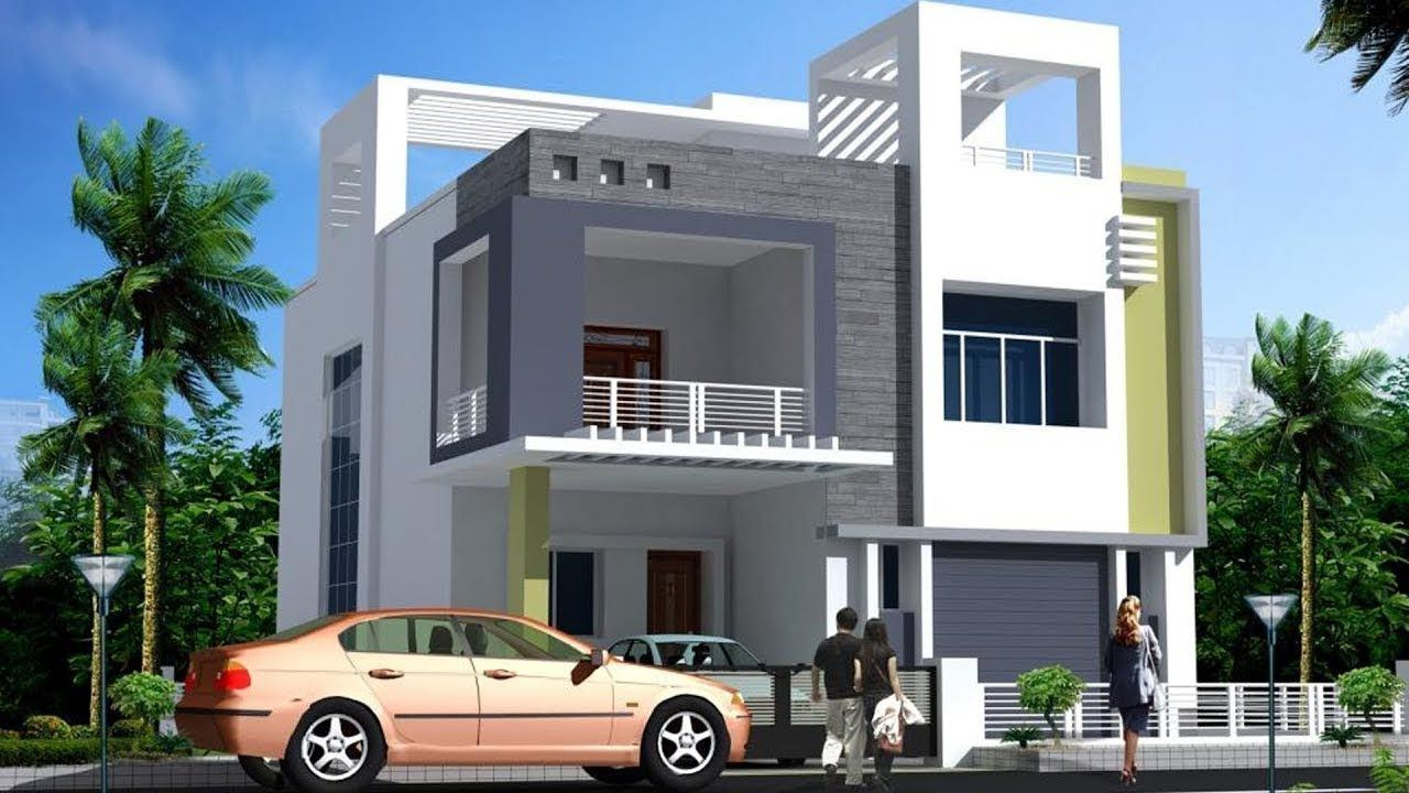 Two story house design House elevation, House front