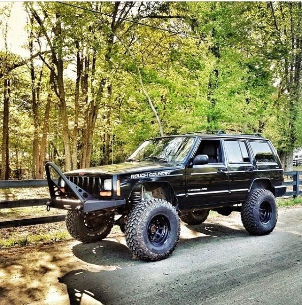 Jeep Front Winch Bumper 84 01 Cherokee Xj Jeep Xj Jeep